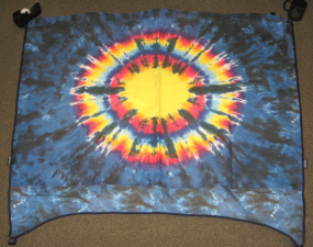 Tye Dye Half Top Cover